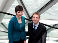 Caroline Pidgeon and Stephen Knight